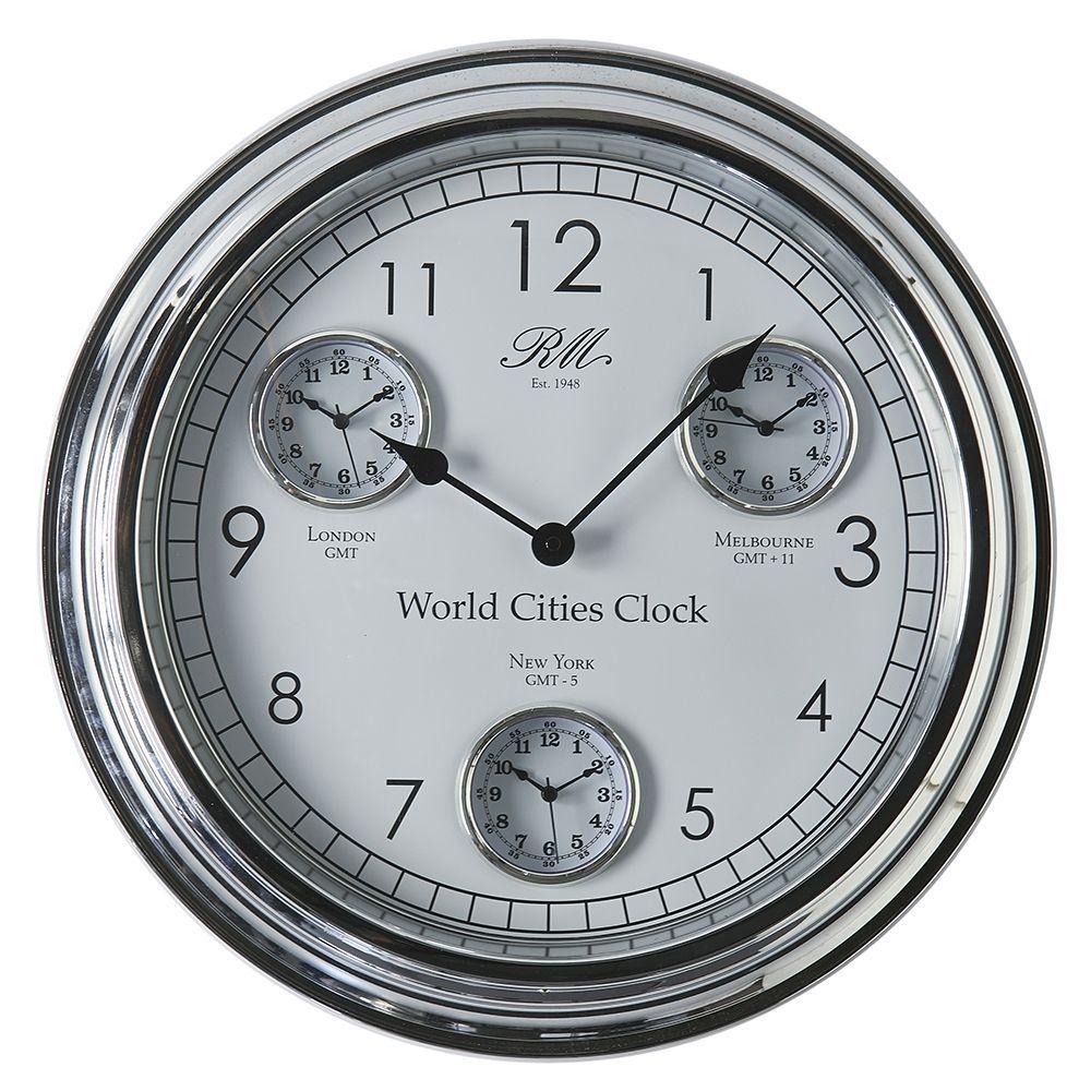 Hodiny World Cities Clock