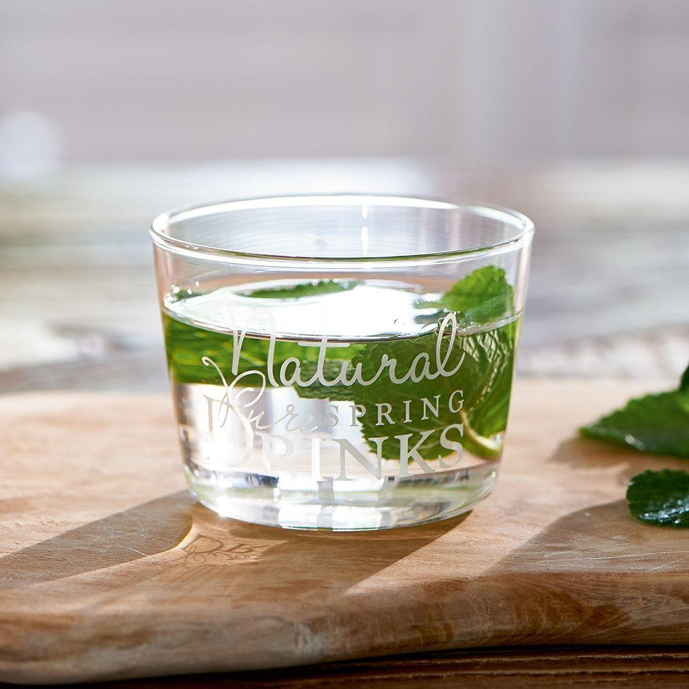 Sklenička Natural Spring Drinks Glass