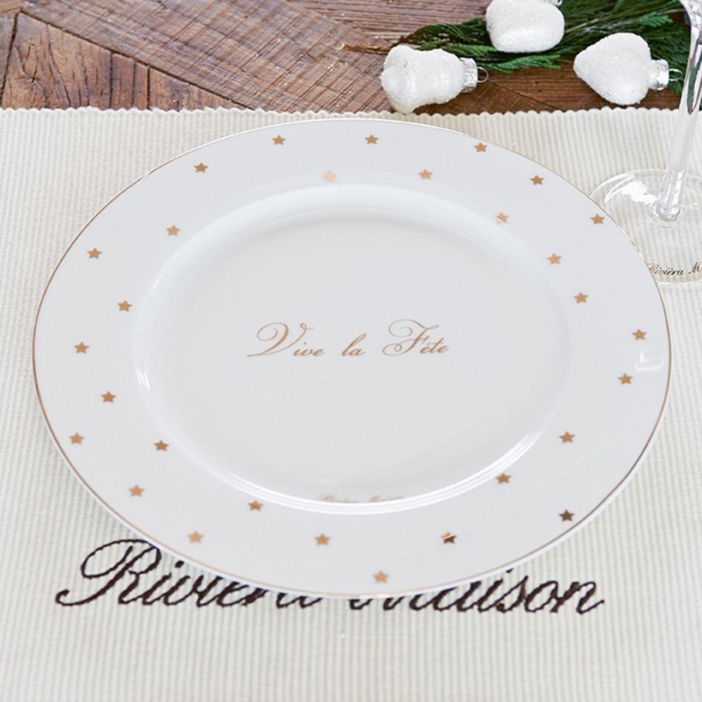 Talíř Vive la Fête Dinner Plate 27 cm