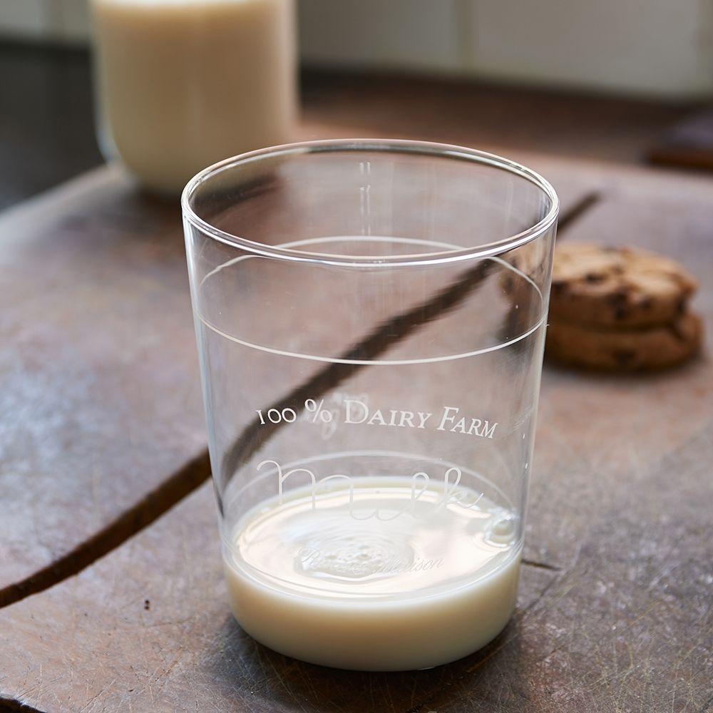 Sklenice na mléko Dairy Farm Milk Glass