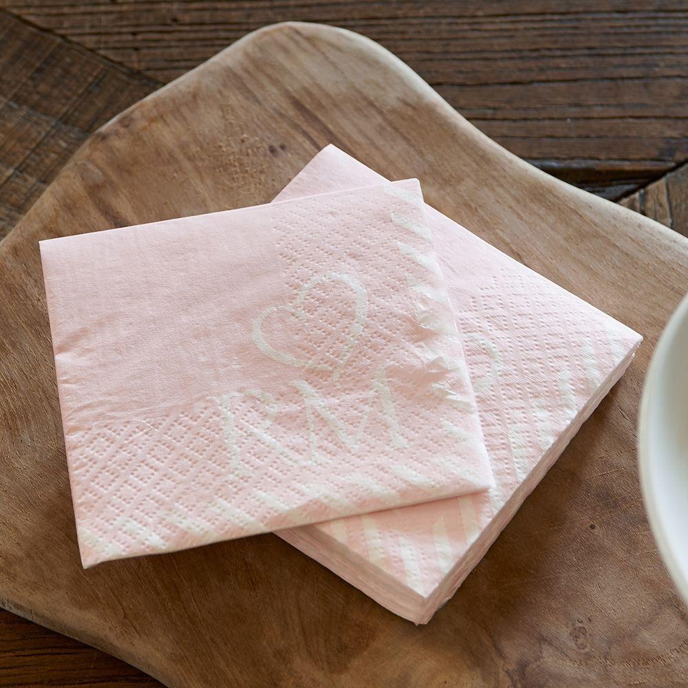 Ubrousky RM Pretty Pink Paper Napkin