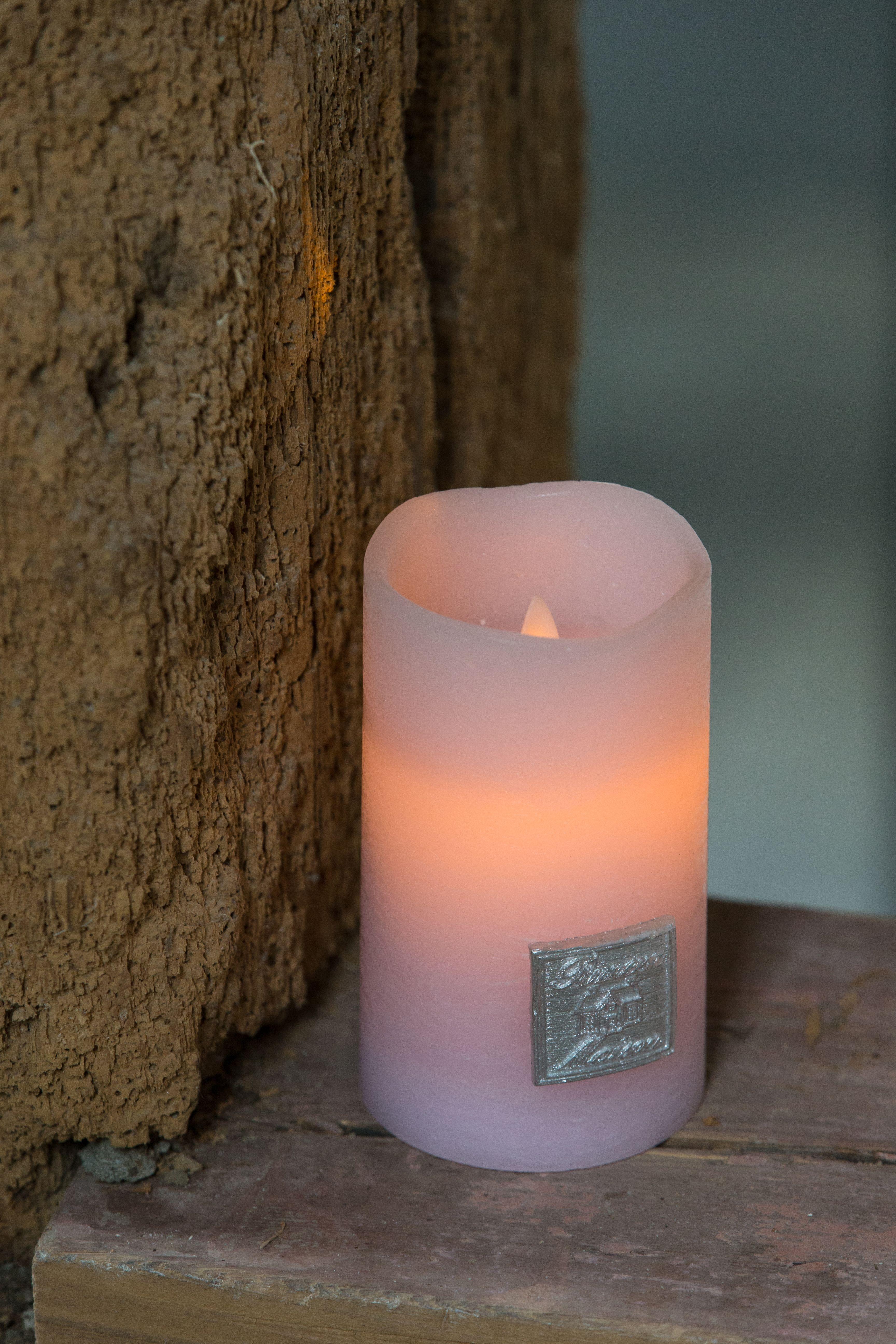 Elektrická svíčka Classic LED - pink