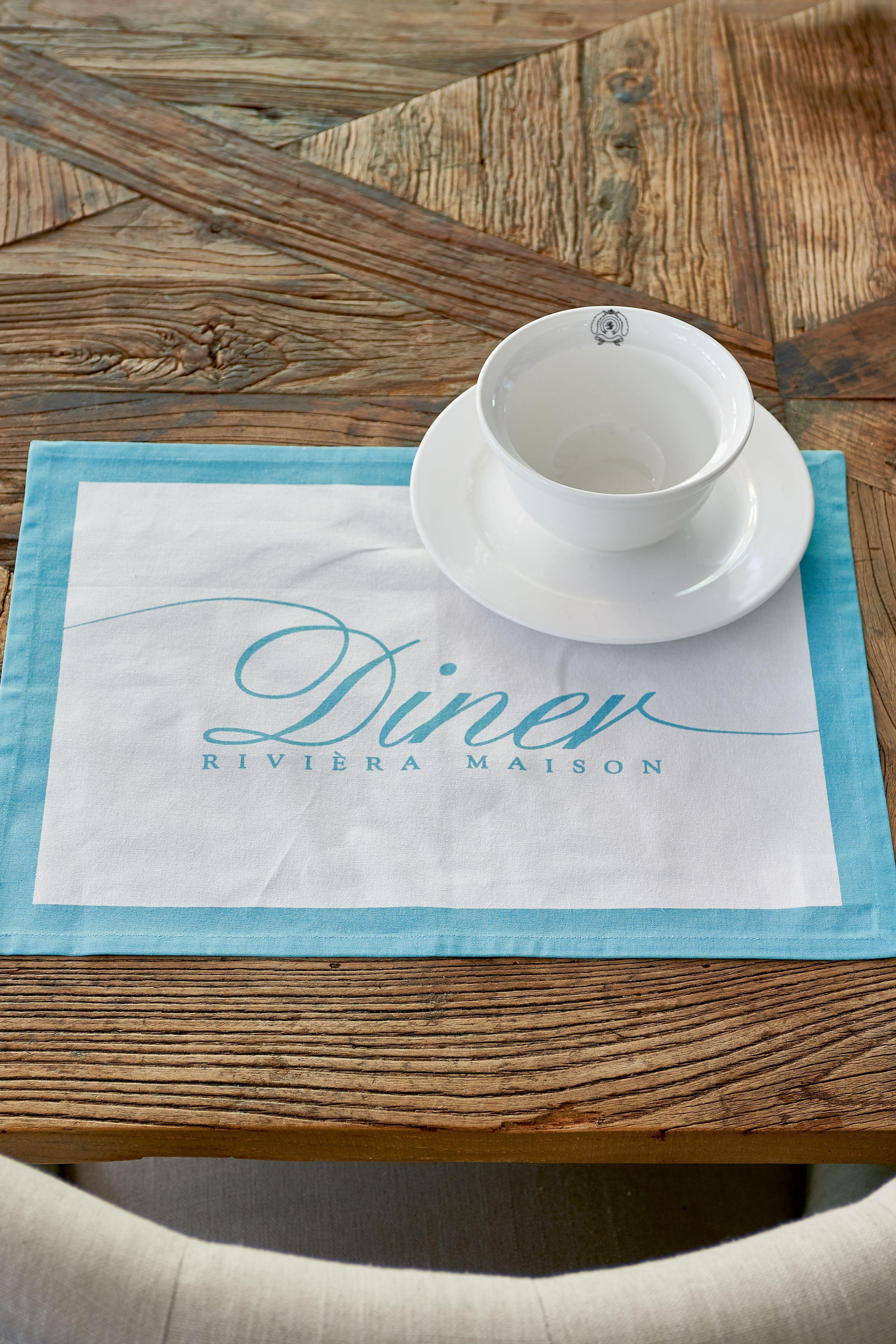 Prostírání Summer Diner - aqua