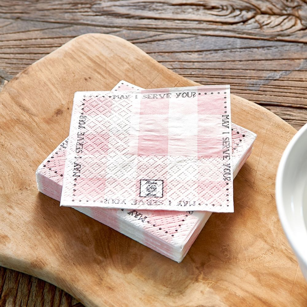 Ubrousky Paper Napkin May I Serve You