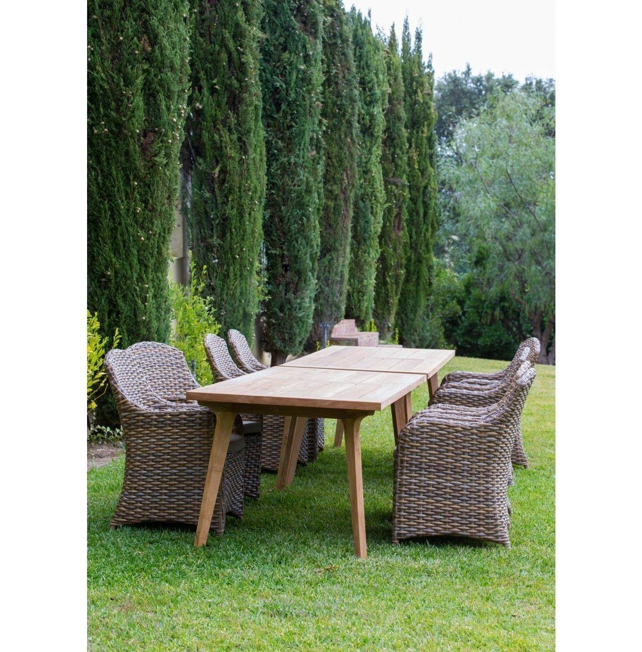 Venkovní jídelní stůl Raphael Garden 220x90