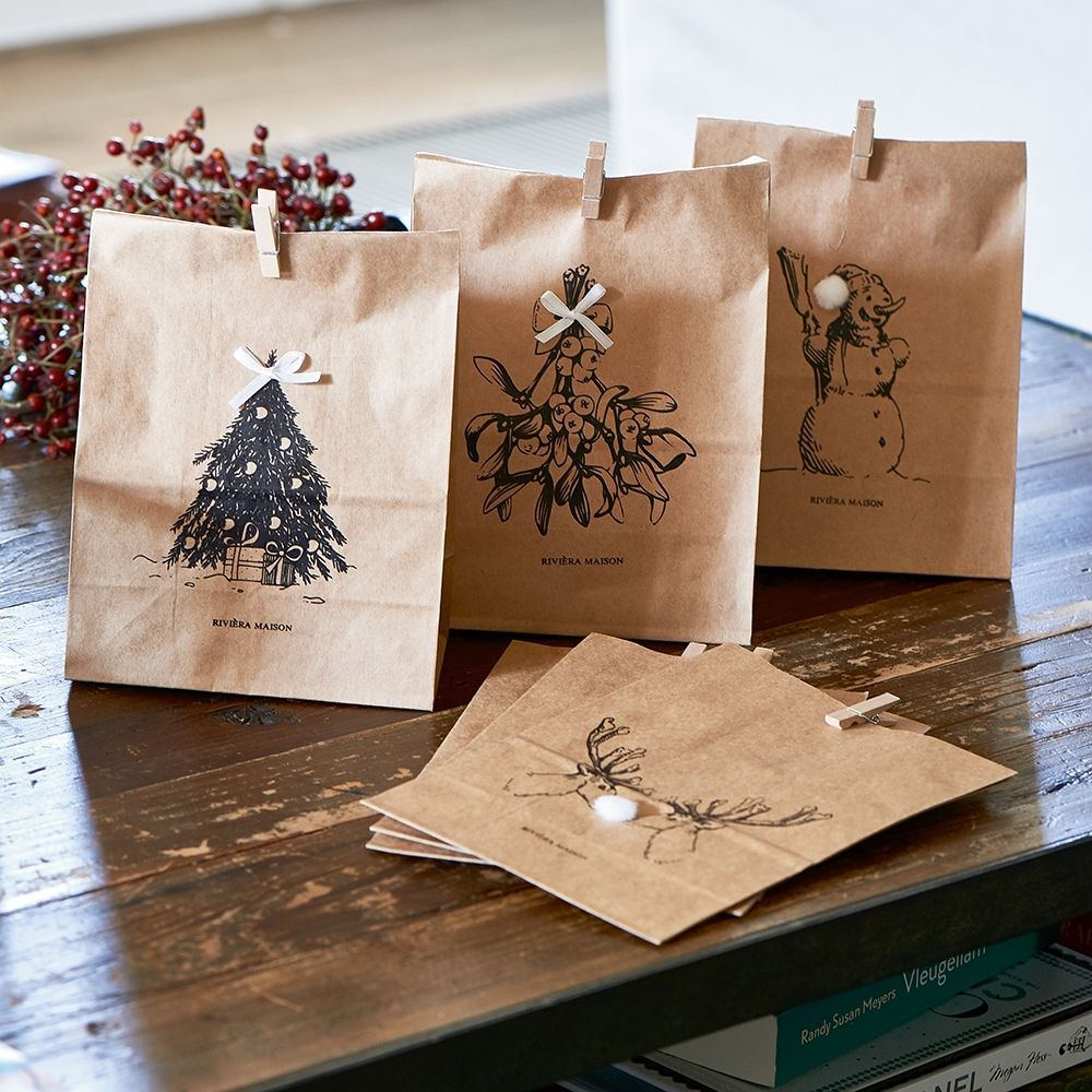 Balíčky Merry Christmas Paper Bags