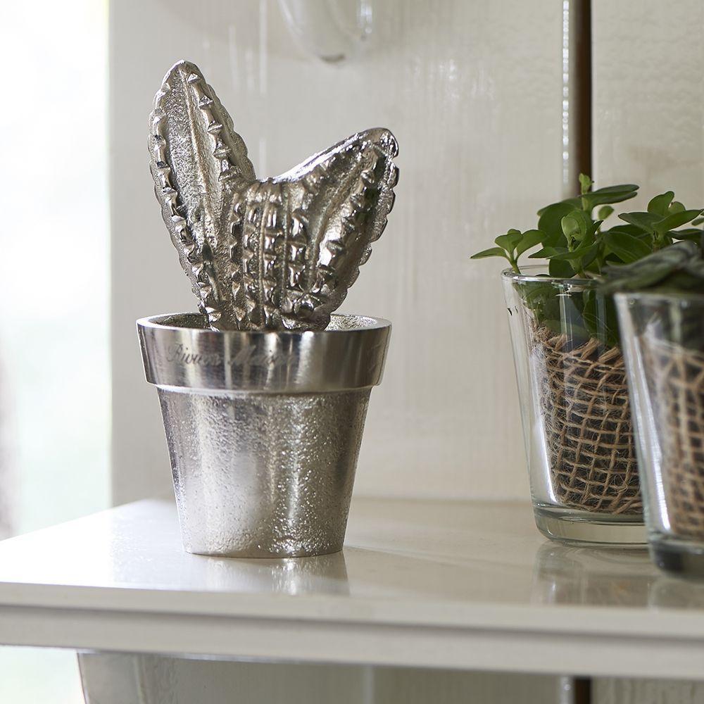 Dekorácia Cool Cactus silver