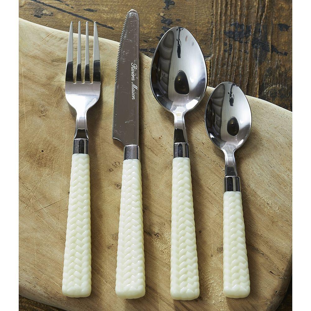 Sada príborov Tropical Rattan Cutlery 24 ks