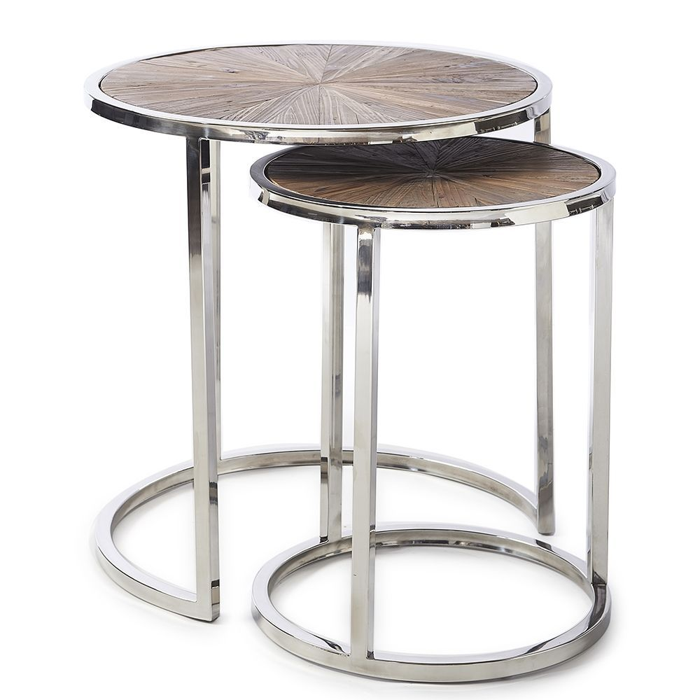 Greenwich End Table S/2