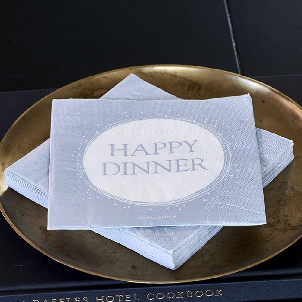 Ubrousky Paper Napkin Happy Dinner
