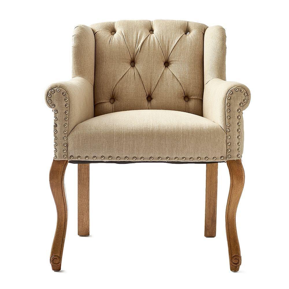 Jídelní židle Keith II Lowback, Flax