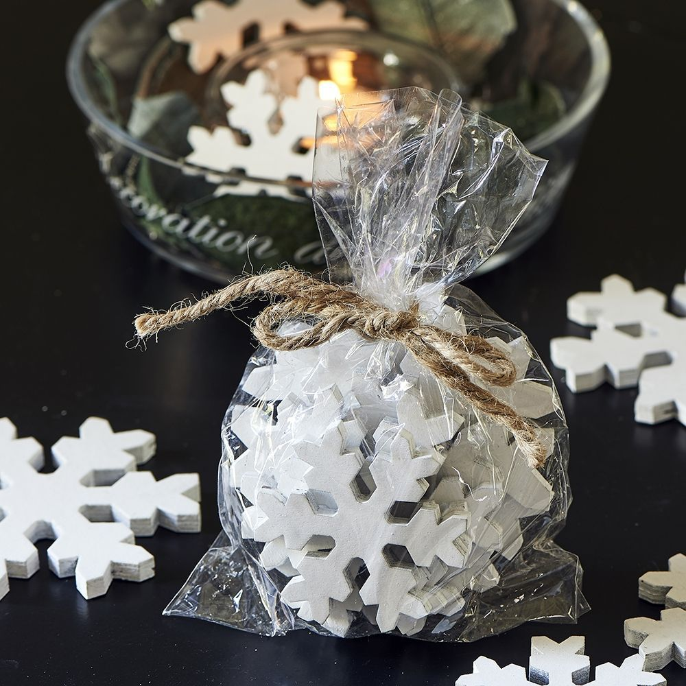 Dekorativní vločky Winter Village Decoration Snowflake
