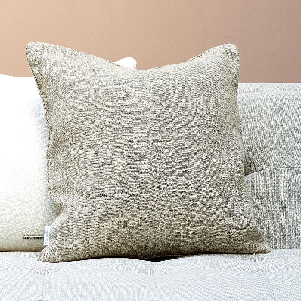 Povlak na polštář Lovely Linen natural 50 x 50