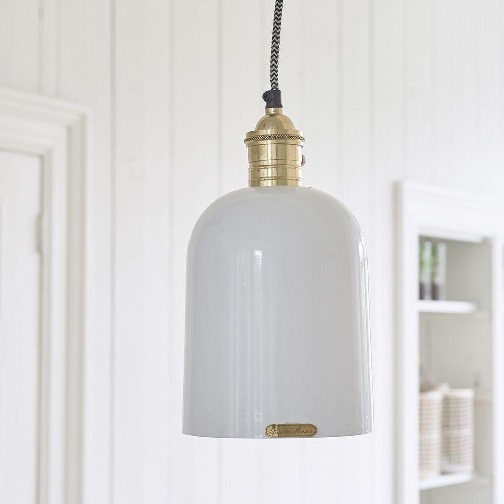 Coqotte závesná lampa biela