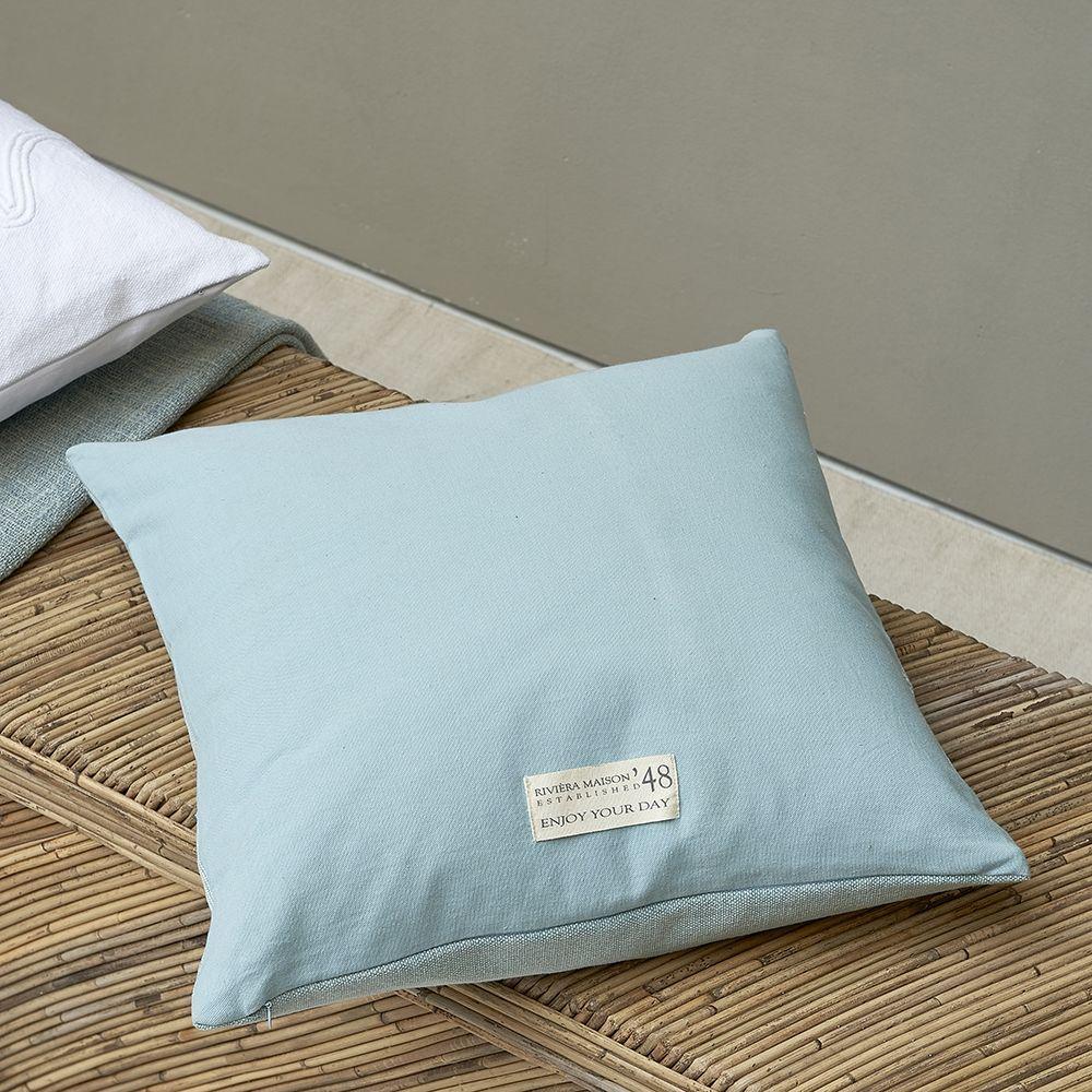Povlak na polštář Smile Pillow Cover blue 50x50