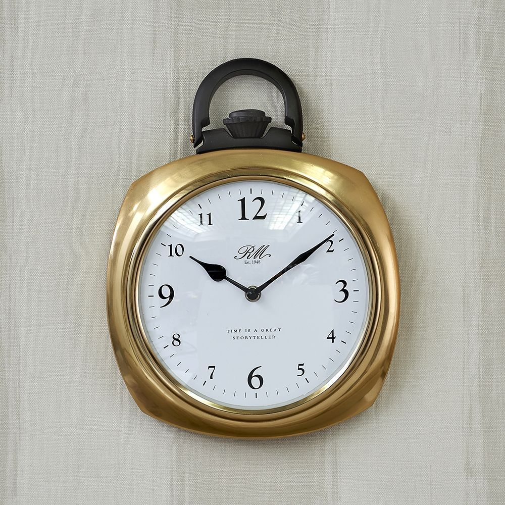 Hodiny Time Is A Great Storyteller Pocket Watch Clock