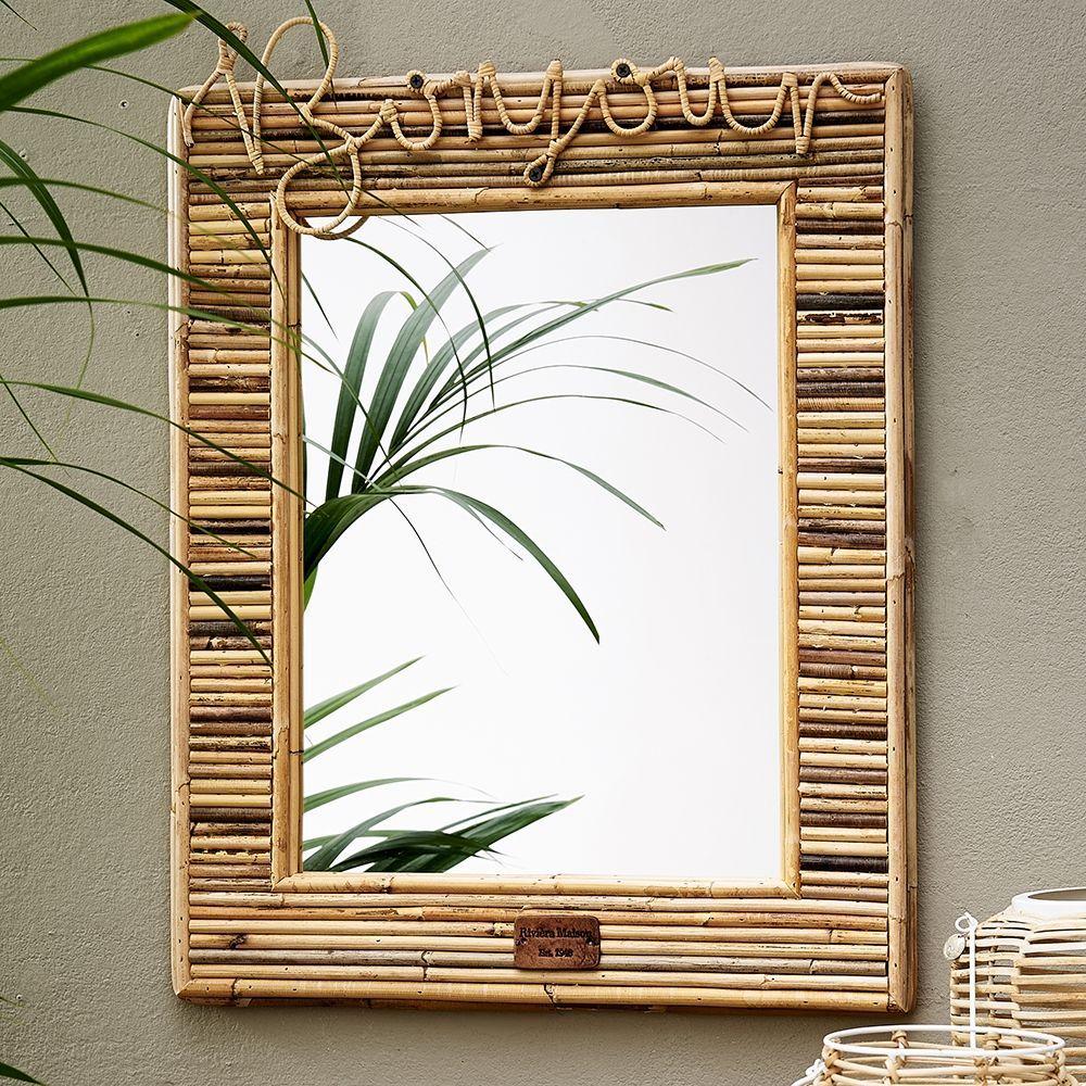 Zrcadlo Rustic Rattan Bonjour