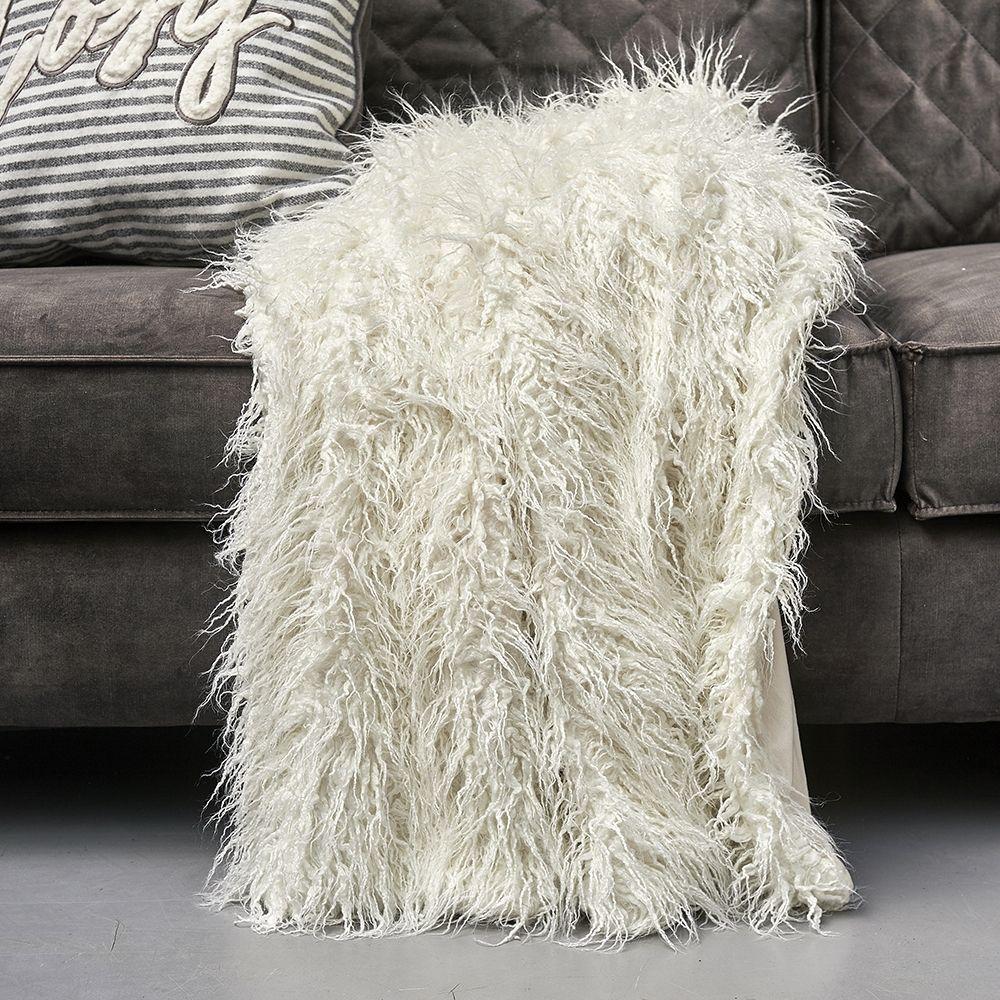 Deka z umělé kožešiny Siberian Faux Fur Throw wh170x130