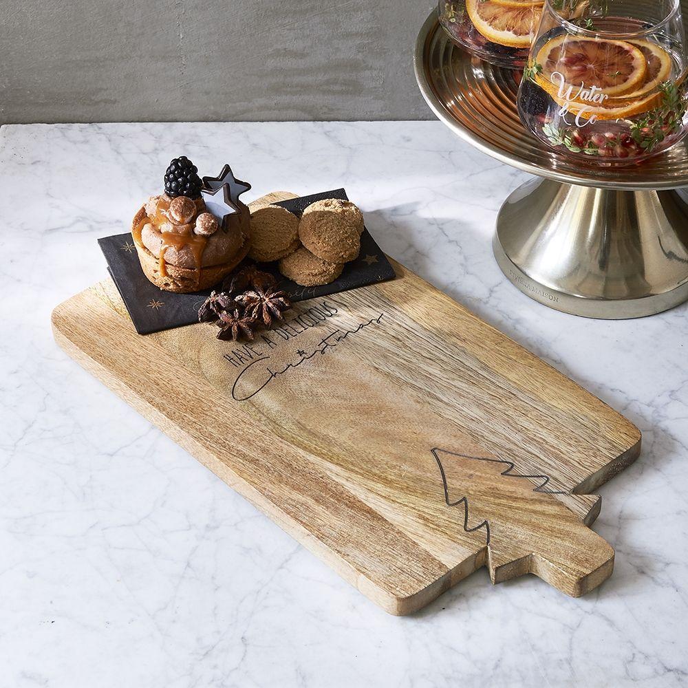 Prkýnko Delicious Christmas Cutting Board