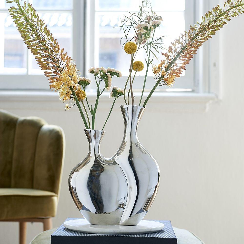 Váza Double Flower Vase M