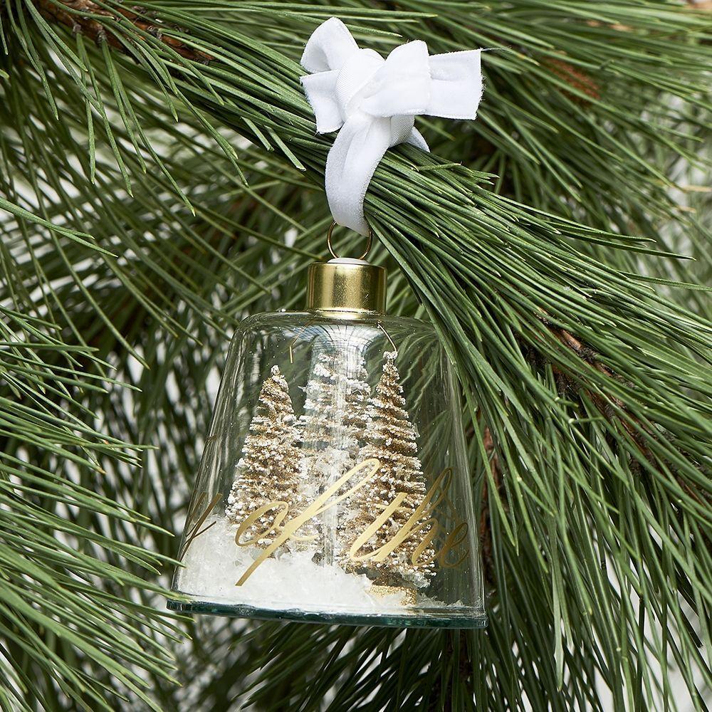 Vánoční ozdoba Joy Of The Season Ornament gold S