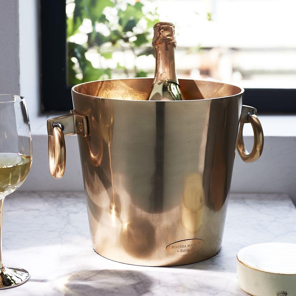 Chladič na šampaňské Royalton Champagne Cooler soft gold