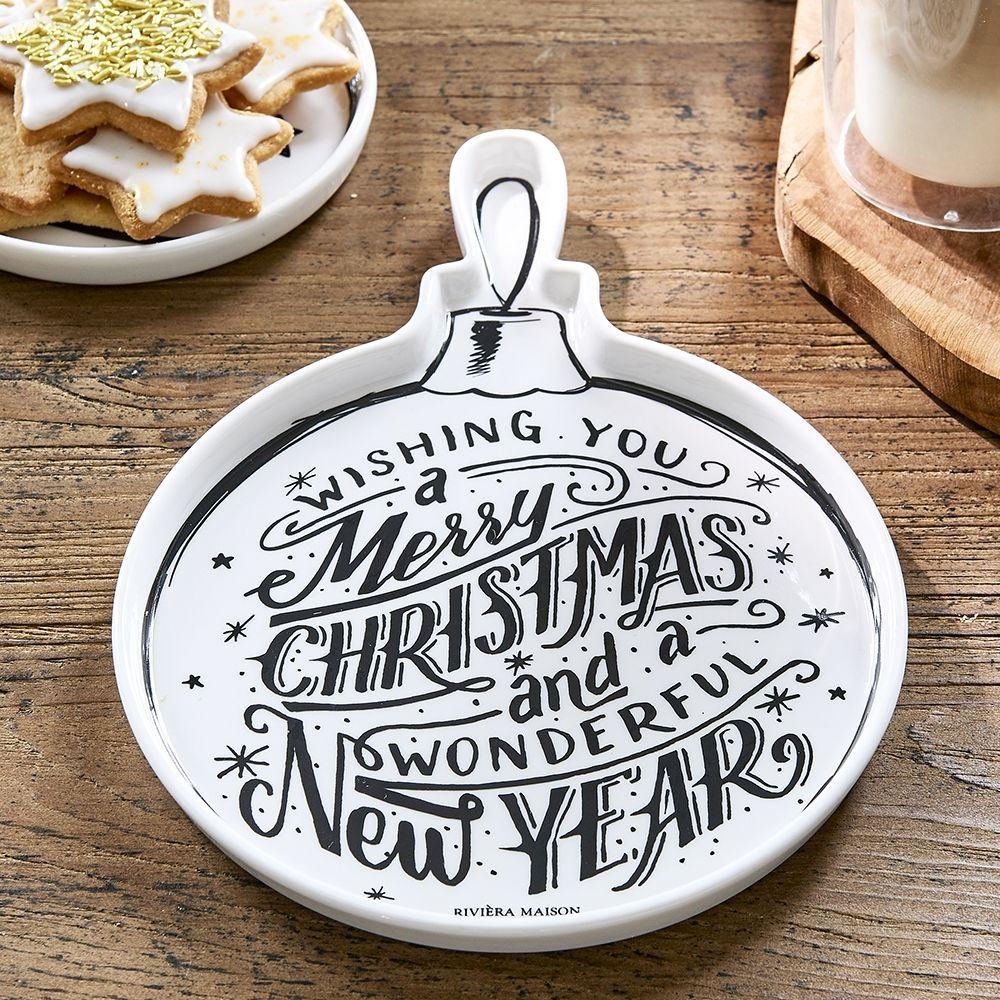 Talíř Christmas Ornament Plate M