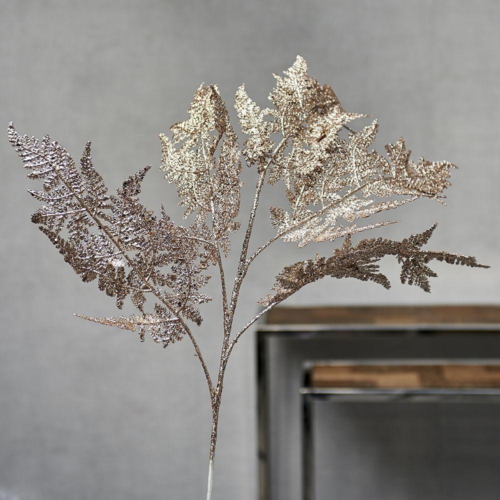 Umělý květ Festive Fern Branch