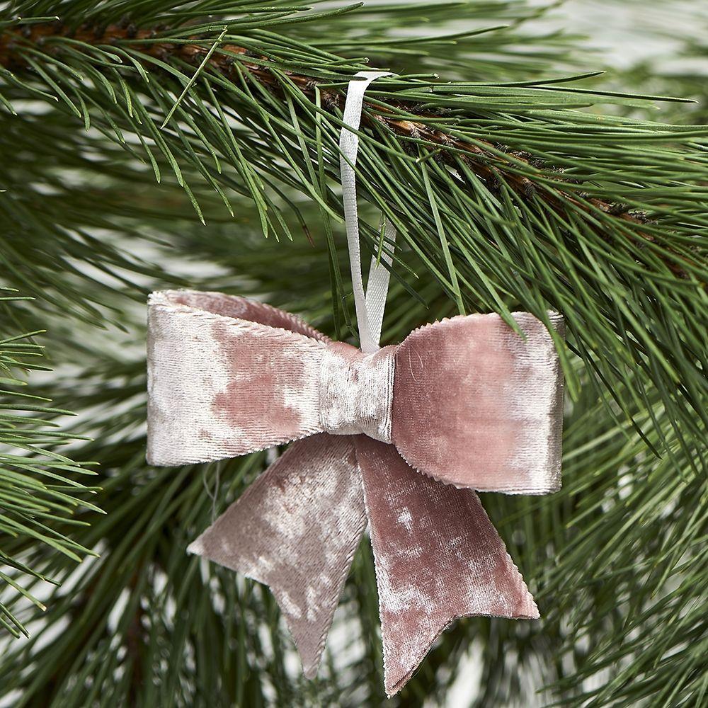 Vánoční ozdoba Jacky Bow pink