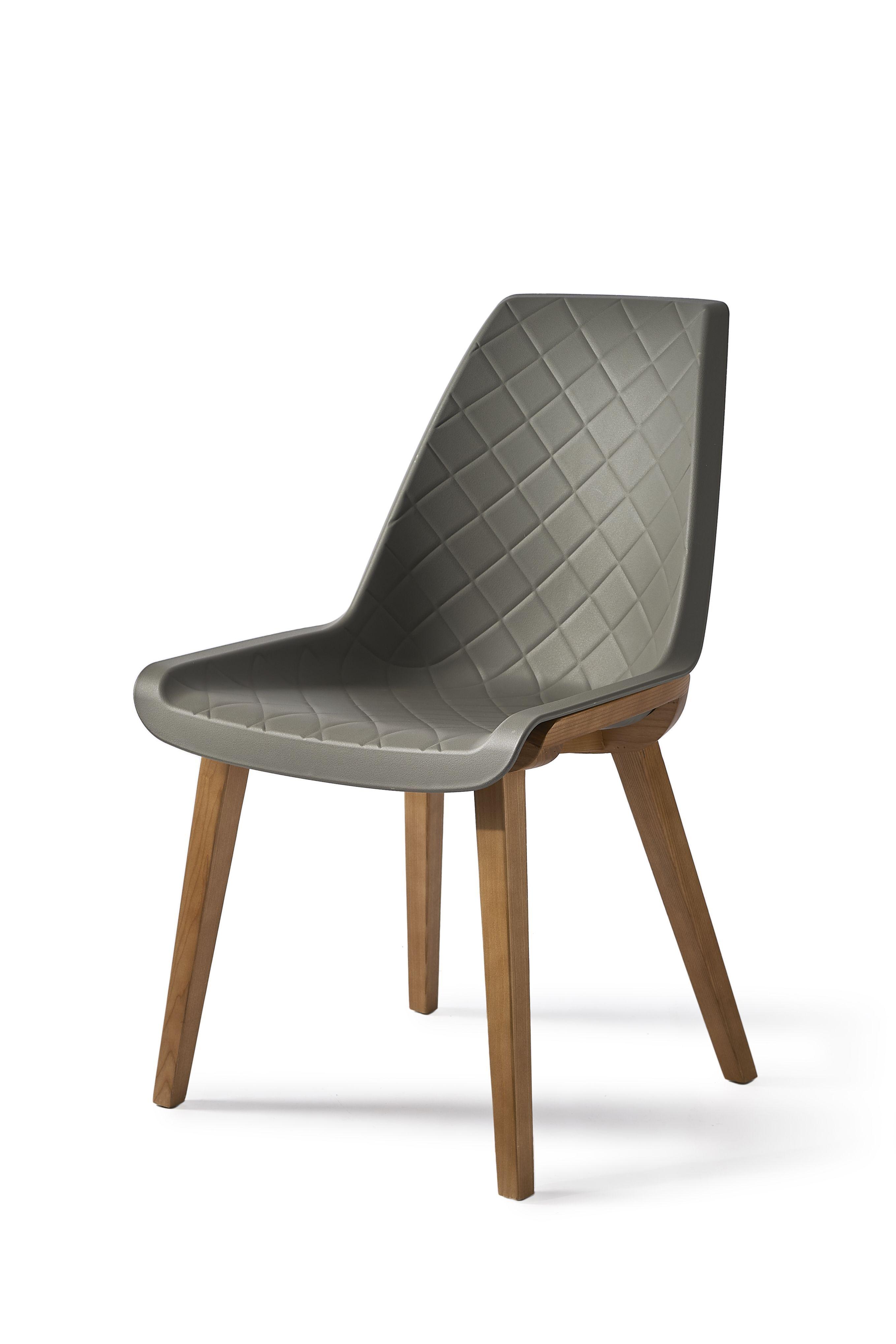 Jídelní židle Amsterdam City, Grey