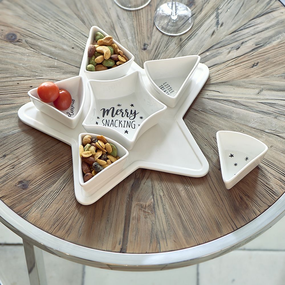 Miska Merry Snacking Party Plate