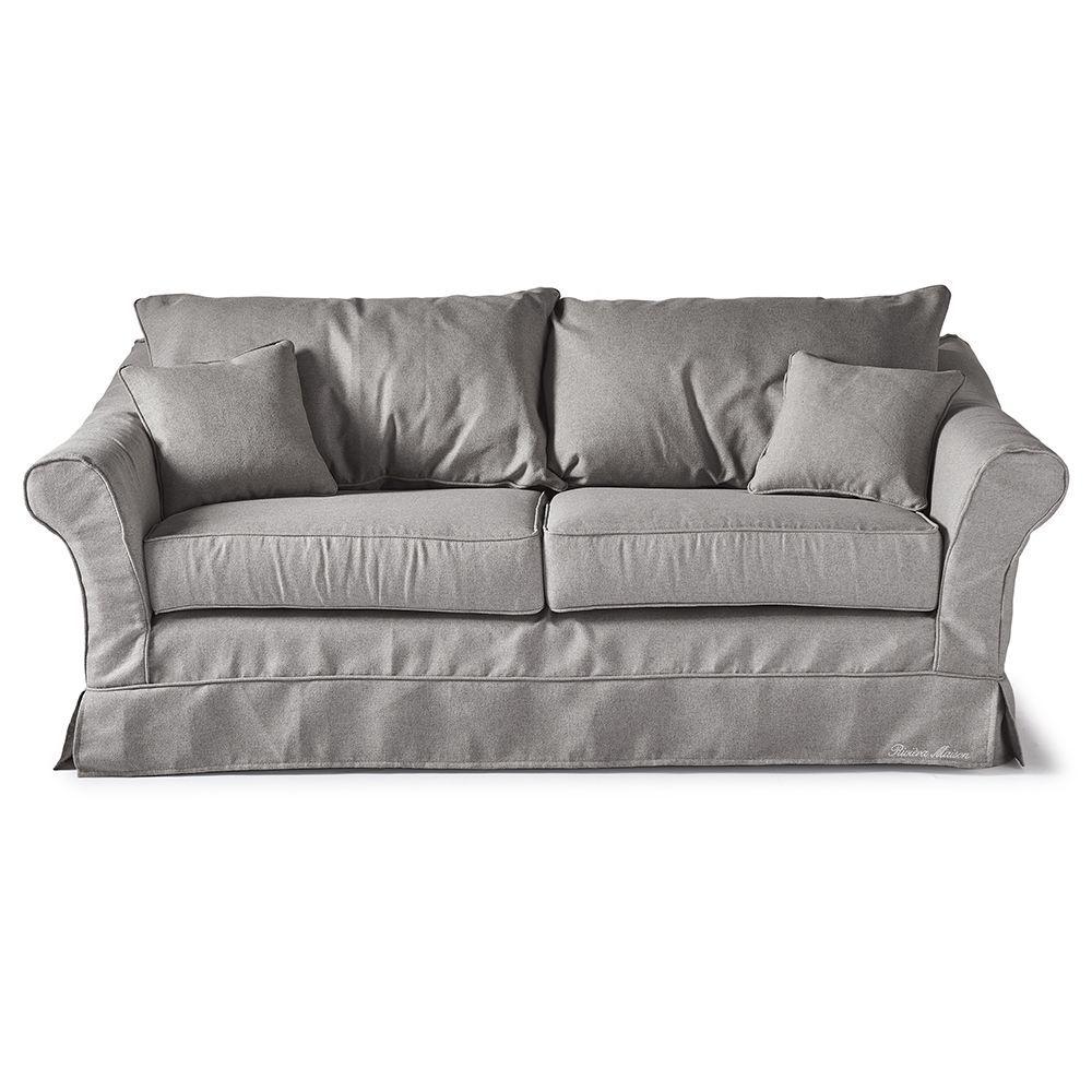 Sedačka Bond Street Sofa 2.5s, Oxford Weave, Steel Grey