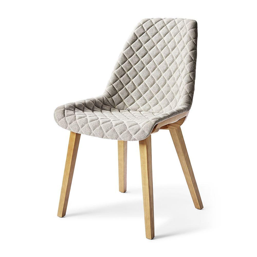 Jídelní židle Amsterdam City, Linen, Grey