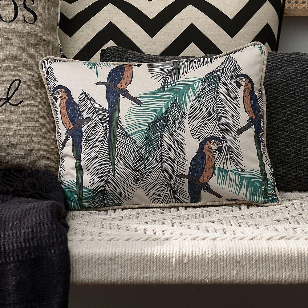 Návlek na polštář Galapagos Parrot Pillow Cover
