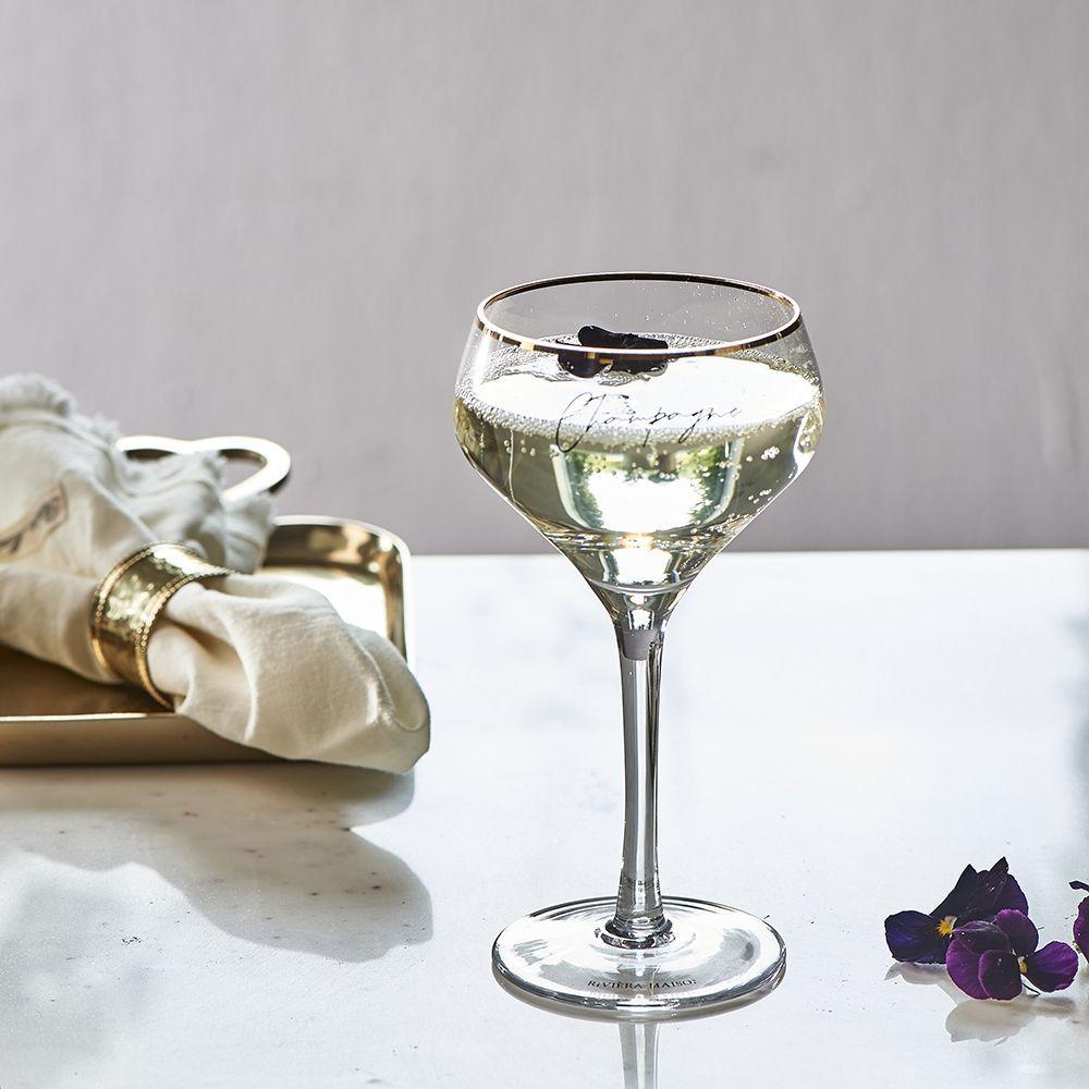 Sklenice na šampaňské Champagne Piscine Glass