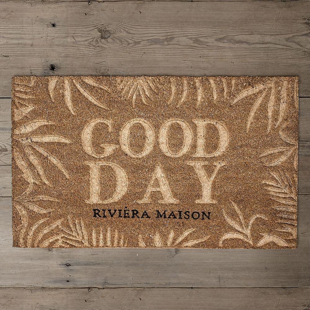 Rohožka RM Good Day Leaves Doormat