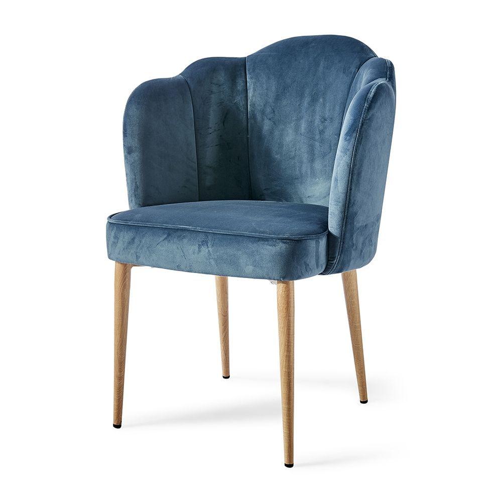 Jídelní židle Lauderdale, Ocean Blue
