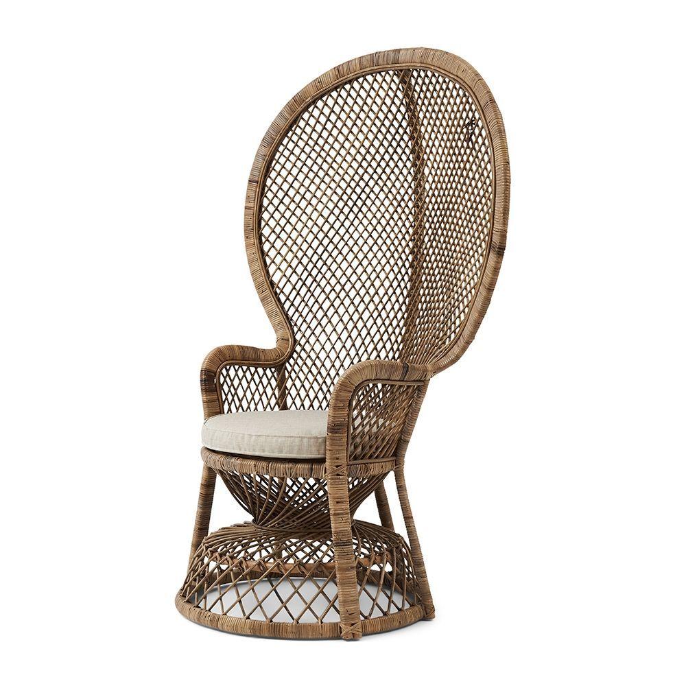 Křeslo Greenport Peacock Chair, Grey
