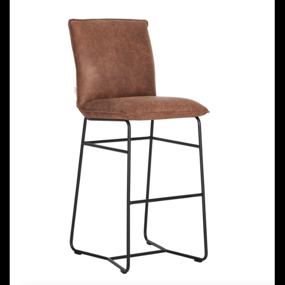 Barová židle Delaware, Cognac