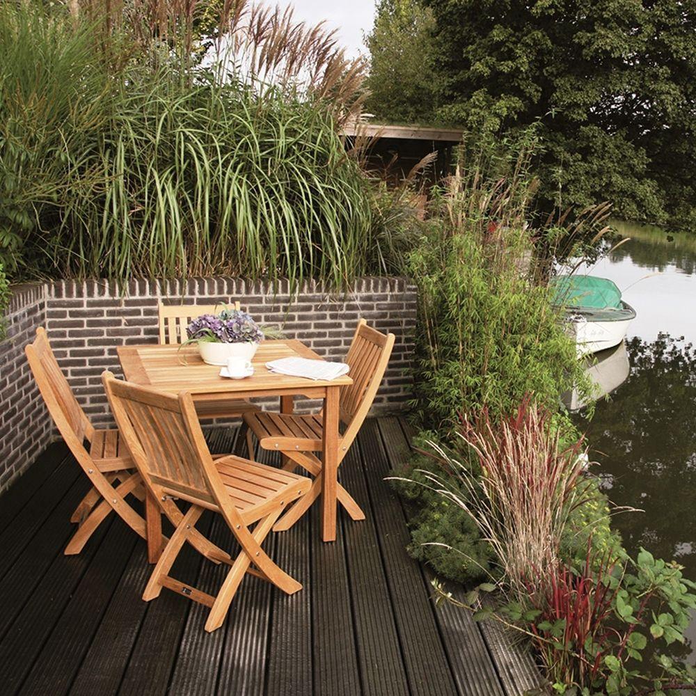 Záhradná skladacia stolička Victoria