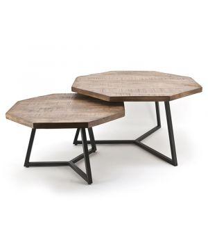 Konferenční stolek Octagon S / 2, 76x76cm