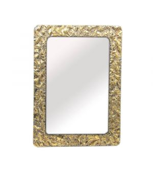 Mirror Ant. Gold Vulcano 80x110