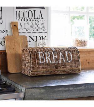 Chlebník Rustic Rattan Bread Box