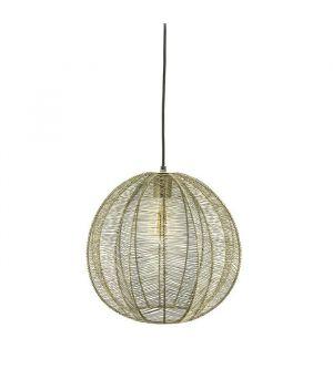 Závěsná lampa Floss small - bronze