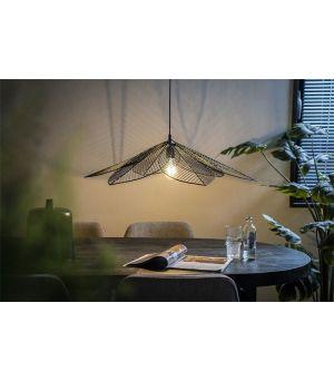 Závěsná lampa Archtiq - černá