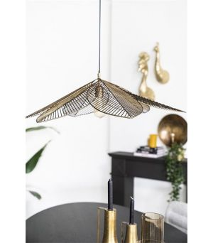 Závěsná lampa Archtiq - bronze