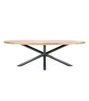 Oválný jídelní stůl Oscar 200x110cm