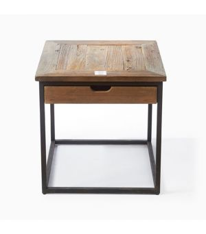 Stolek Shelter Island End Table w/dr 55 x 55 cm