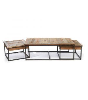 Konferenční stolek Shelter Island S/3, 130x70cm
