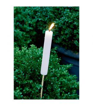 Svícen Garden Torch pink S